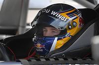 May 4, 2007; Richmond, VA, USA; Nascar Nextel Cup Series driver A.J. Allmendinger (84) during practice for the Jim Stewart 400 at Richmond International Raceway. Mandatory Credit: Mark J. Rebilas.