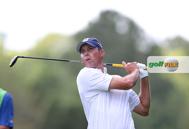 Matt Kuchar of USA drives from the 2nd tee during the 3rd round of the Valspar Championship, Innisbrook Resort (Copperhead), Palm Harbor, Florida, USA<br /> Picture: Peter Mulhy / Golffile