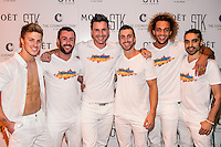 "LAS VEGAS, NEVADA - SEPT. 12, 2016 ""The Aussie Heat"" cast pictured as Comedienne Heather McDonald Hosts STK Las Vegas' Fourth Annual White Party, at The Cosmopolitan of Las Vegas  in Las Vegas, NV, on September 12, 2016 Credit: GDP Photos/ MediaPunch"
