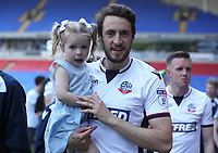 Bolton Wanderers' Will Buckley<br /> <br /> Photographer Rachel Holborn/CameraSport<br /> <br /> The EFL Sky Bet Championship - Bolton Wanderers v Nottingham Forest - Sunday 6th May 2018 - Macron Stadium - Bolton<br /> <br /> World Copyright &copy; 2018 CameraSport. All rights reserved. 43 Linden Ave. Countesthorpe. Leicester. England. LE8 5PG - Tel: +44 (0) 116 277 4147 - admin@camerasport.com - www.camerasport.com