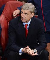 FUSSBALL   CHAMPIONS LEAGUE   VORRUNDE     SAISON 2013/2014    Arsenal London - SSC Neapel   01.10.2013 Trainer Arsene Wenger (Arsenal)