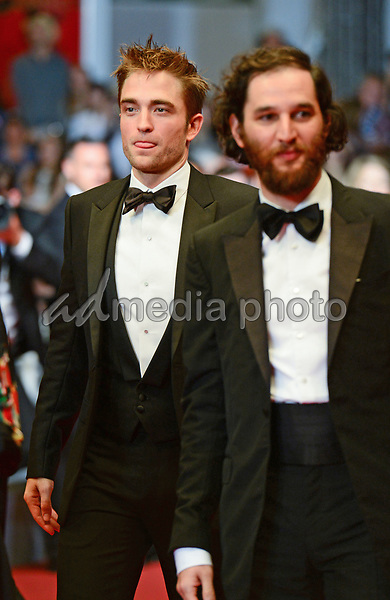 """25 May 2017 - Cannes, France - Robert Pattinson, Joshua Safdie. """"Good Time"""" Premiere - The 70th Annual Cannes Film Festival. Photo Credit: Jan Sauerwein/face to face/AdMedia"""