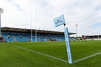 A general view of Sandy Park. Gallagher Premiership match, between Exeter Chiefs and Leicester Tigers on September 1, 2018 at Sandy Park in Exeter, England. Photo by: Patrick Khachfe / JMP