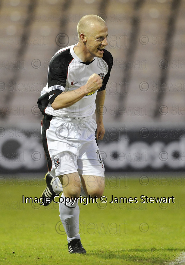 13/05/2008   Copyright Pic: James Stewart.File Name : sct_jspa11_gretna_v_hearts.GAVIN SKELTON CELEBRATES AFTER HE SCORES GRETNA'S GOAL.James Stewart Photo Agency 19 Carronlea Drive, Falkirk. FK2 8DN      Vat Reg No. 607 6932 25.Studio      : +44 (0)1324 611191 .Mobile      : +44 (0)7721 416997.E-mail  :  jim@jspa.co.uk.If you require further information then contact Jim Stewart on any of the numbers above........