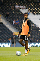 Fulham's Ryan Sessegnon warms up prior to the Carabao Cup match between Fulham and Bristol Rovers at Craven Cottage, London, England on 22 August 2017. Photo by Carlton Myrie.