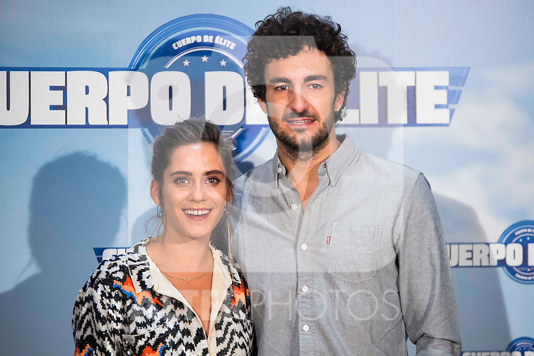 "Maria Leon and Miki Esparbe during the presentation of the spanisn film ""Cuerpo de Elite"" in Madrid. August 24. 2016. (ALTERPHOTOS/Borja B.Hojas)"