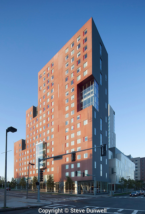 International Village, Northeastern University dorm, Boston, MA (Kyu Sung Woo Architects)