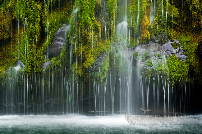 Mossbrae Falls, along the Sacramento River, near Dunsmuir, California