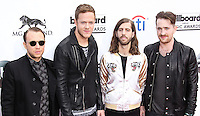LAS VEGAS, NV, USA - MAY 18: Ben McKee, Dan Reynolds, Wayne 'Wing' Sermon, Daniel Platzman, Imagine Dragons at the Billboard Music Awards 2014 held at the MGM Grand Garden Arena on May 18, 2014 in Las Vegas, Nevada, United States. (Photo by Xavier Collin/Celebrity Monitor)