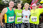 Willie Guiney, Eileen Walsh, Margaret Cahill and Joan Keane (all from Listowel), pictured at the Rose of Tralee 10k on Sunday morning at Tralee Bay Wetlands.