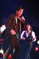MIAMI, FL - AUGUST 3, 2012: Chayanne and Marco Antonio Solis during the Gigant3s concert featuring, Marc Anthony, Chayanne and Marco Anotonio Solis at the American Airlines Arena in Miam, Florida. August 3, 2012. © Majo Grossi/MediaPunch Inc. /NortePhoto.com<br />