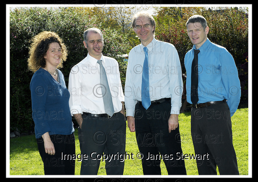 08/10/2007       Copyright Pic: James Stewart.File Name : PG01.FALKIRK COUNCIL :: CELEBRATING SUCCESS.PLANNING GUIDANCE.L TO R ANNA PERKS, ALAN OGILVIE, COLIN HEMFREY, RICHARD BROADLEY.James Stewart Photo Agency 19 Carronlea Drive, Falkirk. FK2 8DN      Vat Reg No. 607 6932 25.Office     : +44 (0)1324 570906     .Mobile   : +44 (0)7721 416997.Fax         : +44 (0)1324 570906.E-mail  :  jim@jspa.co.uk.If you require further information then contact Jim Stewart on any of the numbers above........