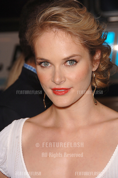 "Actress RACHEL BLANCHARD at the Los Angeles premiere of her new movie ""Snakes on a Plane"" at the Chinese Theatre, Hollywood..August 17, 2006  Los Angeles, CA.© 2006 Paul Smith / Featureflash"