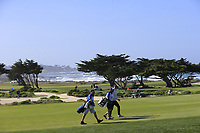 The 6th hole of Monterey Peninsula CC during Saturday's Round 3 of the 2018 AT&amp;T Pebble Beach Pro-Am, held over 3 courses Pebble Beach, Spyglass Hill and Monterey, California, USA. 10th February 2018.<br /> Picture: Eoin Clarke | Golffile<br /> <br /> <br /> All photos usage must carry mandatory copyright credit (&copy; Golffile | Eoin Clarke)