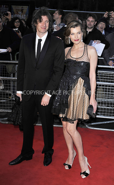 WWW.ACEPIXS.COM . . . . .  ..... . . . . US SALES ONLY . . . . .....March 30 2011, London....Milla Jovovich arriving at the Gorby 80 Gala to Celebrate Mikhail Gorbachev's 80th birthday at the Royal Albert Hall on March 30, 2011 in London, England.....Please byline: FAMOUS-ACE PICTURES... . . . .  ....Ace Pictures, Inc:  ..tel: (212) 243 8787 or (646) 769 0430..e-mail: info@acepixs.com..web: http://www.acepixs.com