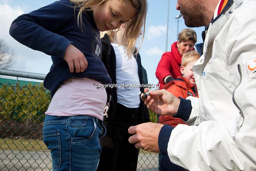 30-03-13, Tennis, Alblasserdam, Maak kennis met tennis,