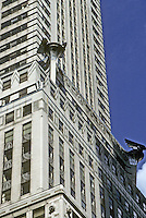 New York: Chrysler Building. Zoom shot of side of building. Photo '91.