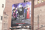 Johnny Depp 'Dark Shadows' Billboard. Times Square on August 26, 2012 in New York City.