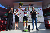 June 17th 2017, Schaffhaussen, Switzerland;  SAGAN Peter (SVK) Rider of Team Bora - Hansgrohe on podium after stage 8 of the Tour de Suisse cycling race, a stage of 100 kms between Schaffhaussen and Schaffhaussen