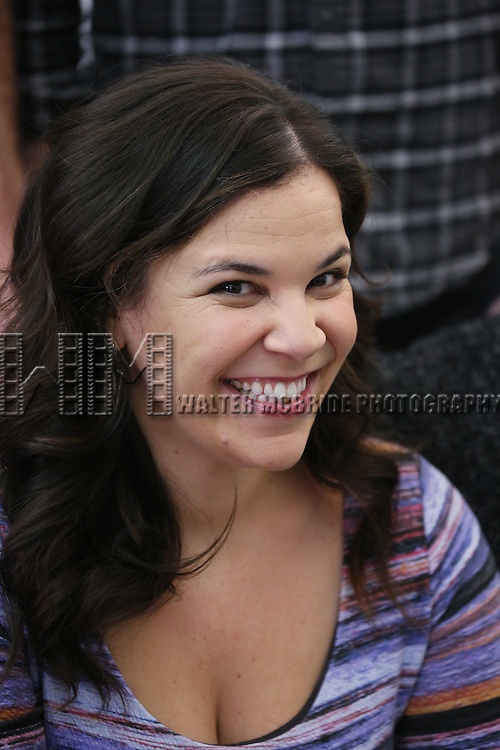 Lindsay Mendez attends the cast photo call for 'Significant Other' at the Roundabout Theatre rehearsal hall on April 24, 2015 in New York City.
