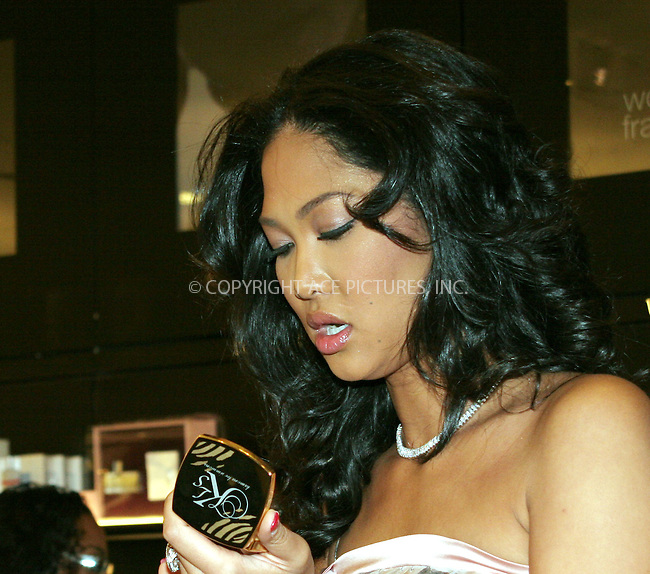 WWW.ACEPIXS.COM . . . . .  ....April 22 2006, New Jersey....Designer and model Kimora Lee Simmons promoted her make-up line at Sephora in Paramus, New Jersey.....Please byline: NANCY RIVERA- ACEPIXS.COM.... *** ***..Ace Pictures, Inc:  ..(212) 243-8787..e-mail: picturedesk@acepixs.com..web: http://www.acepixs.com