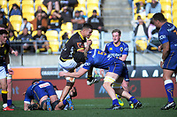 Vaea Fifita in action during the Mitre 10 Cup rugby match between Wellington Lions and Otago at Westpac Stadium in Wellington, New Zealand on Sunday, 19 August 2018. Photo: Dave Lintott / lintottphoto.co.nz