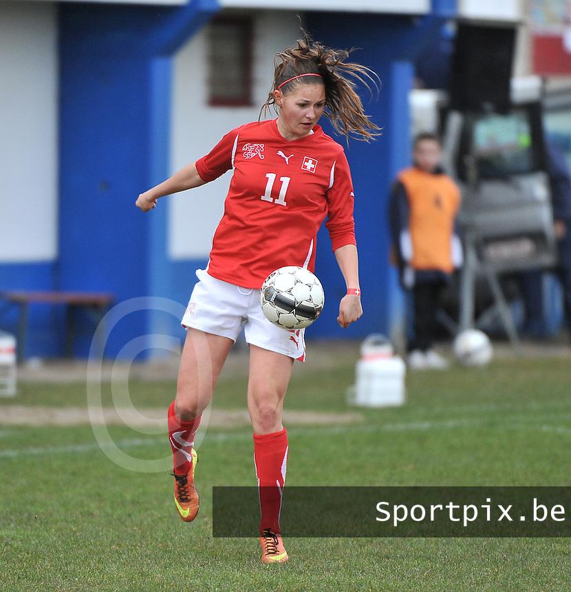 Switzerland U19 - France U19 : Barla Deplazes.foto DAVID CATRY / Nikonpro.be