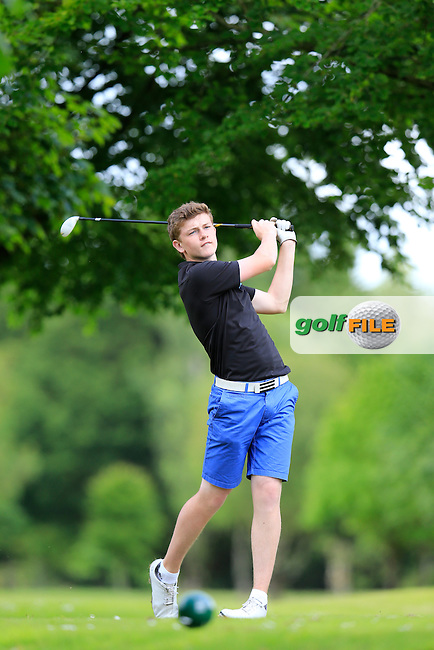 Marc McKinstry (Cairndhu) during the final round of the 2015 Irish Boys Amateur Open Championship, Tuam Golf Club, Tuam, Co Galway. 26/06/2015<br /> Picture: Golffile | Fran Caffrey