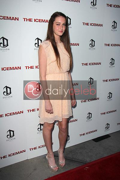 "Karsen Liotta<br /> at ""The Iceman"" Red Carpet, Arclight Theater, Hollywood, CA 04-22-13<br /> David Edwards/DailyCeleb.Com 818-249-4998"