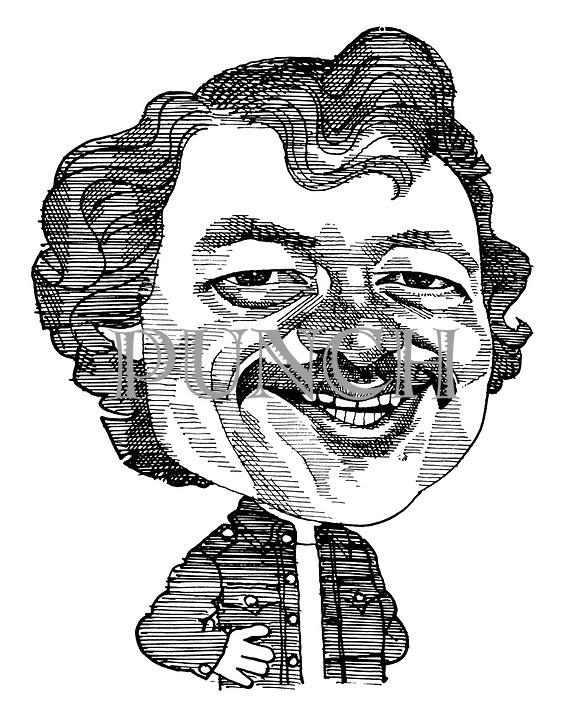 (Caricature of Ken Livingstone)