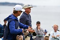 Jason Dufner (USA) heads down 13 during round 2 of the 2019 US Open, Pebble Beach Golf Links, Monterrey, California, USA. 6/14/2019.<br /> Picture: Golffile | Ken Murray<br /> <br /> All photo usage must carry mandatory copyright credit (© Golffile | Ken Murray)