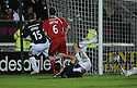 06/12/2008  Copyright Pic: James Stewart.File Name : sct_jspa08_falkirk_v_st_mirren.STEVE LOVELL SCORES FALKIRK'S GOAL.James Stewart Photo Agency 19 Carronlea Drive, Falkirk. FK2 8DN      Vat Reg No. 607 6932 25.Studio      : +44 (0)1324 611191 .Mobile      : +44 (0)7721 416997.E-mail  :  jim@jspa.co.uk.If you require further information then contact Jim Stewart on any of the numbers above.........