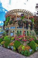 The beautiful and lush Shaw Cafe in Niagara-on-the-Lake.