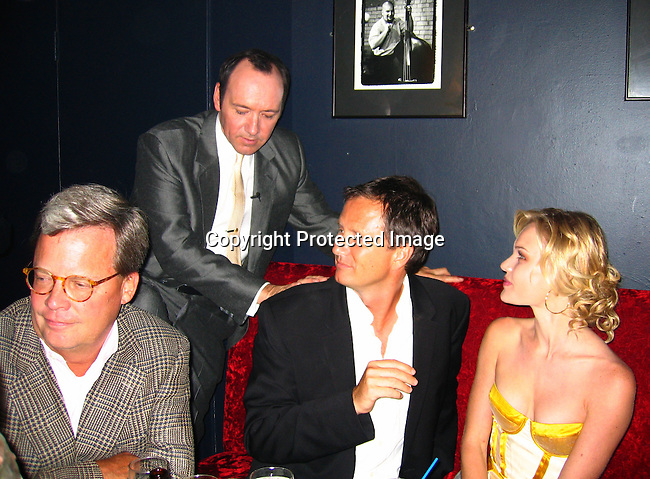 Hal Bosworth, Kevin Spacey, Michael Burns of Lion Gate &amp; Kate Bosworth<br />2004 Toronto International Film Festival &ndash; &ldquo;Beyond the Sea&rdquo; Post Premiere Party<br />Reservoir Club<br />Toronto, Ontario Canada<br />Saturday, September, 11, 2004<br />Photo By Celebrityvibe.com/Photovibe.com, New York, USA, Phone 212 410 5354, email:sales@celebrityvibe.com