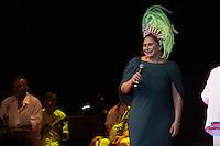 SÃO PAULO - SP. 15.02.2017 - SHOW-SP. Fafá de Belém durante Show de Verão da Mangueira, nesta quarta-feira, 15, no Tom Brasil, zona sul de São Paulo. (Foto: Ciça Neder / Brazil Photo Press)