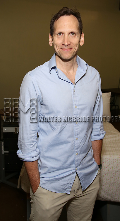 Stephen Kunken attends the cast photo call for the Second Stage production of  'A Parallelogram' at the Second Stage rehearsal studios on June 29, 2017 in New York City.