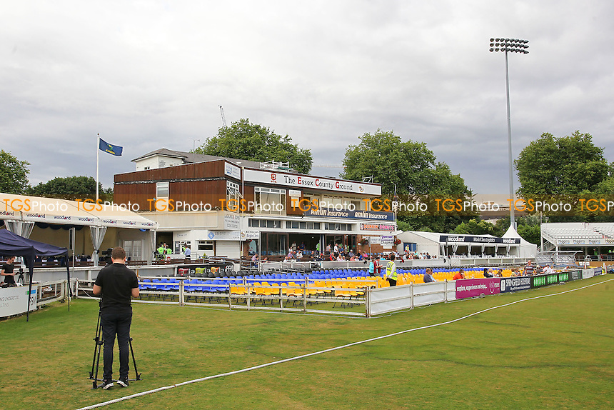 General view of the pavilion ahead of Essex Eagles vs Glamorgan, NatWest T20 Blast Cricket at the Essex County Ground on 29th July 2016