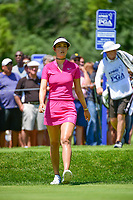 Michelle Wie (USA) approaches the number 2 tee during Saturday's round 3 of the 2017 KPMG Women's PGA Championship, at Olympia Fields Country Club, Olympia Fields, Illinois. 7/1/2017.<br /> Picture: Golffile | Ken Murray<br /> <br /> <br /> All photo usage must carry mandatory copyright credit (&copy; Golffile | Ken Murray)