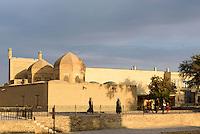 Beim Hovuz in Buchara, Usbekistan, Asien<br /> near hovuz, Bukhara, Uzbekistan, Asia
