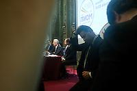 Milano: Mario Monti durante la campagna elettorale per le politiche 2013