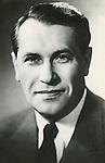 Soviet actor Mark Bernes. 1940. Post card. / Советский актер Марк Наумович Бернес. 1940 год. Почтовая открытка.