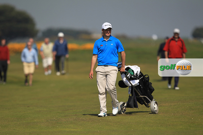 Jack Hume (Naas) on the 17th during Round 4 of the Flogas Irish Amateur Open Championship at Royal Dublin on Sunday 8th May 2016.<br /> Picture:  Thos Caffrey / www.golffile.ie