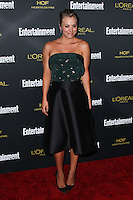 WEST HOLLYWOOD, CA, USA - AUGUST 23: Kaley Cuoco arrives at the 2014 Entertainment Weekly Pre-Emmy Party held at the Fig & Olive on August 23, 2014 in West Hollywood, California, United States. (Photo by Xavier Collin/Celebrity Monitor)