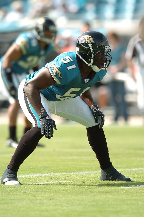 CLINT INGRAM, of the Jacksonville Jaguars in action during the Jaguars game against the San Diego Chargers on November 18, 2007 in Jacksonville, Florida...JAGUARS WIN 24-17..SportPics