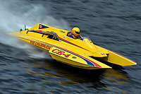 """Paul Hewitt, CE-4 """"Pure Canadian"""", (280 class cabover hydroplane)"""