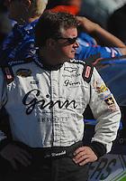 Mar 30, 2007; Martinsville, VA, USA; Nascar Nextel Cup Series driver Joe Nemechek (01) during qualifying for the Goody's Cool Orange 500 at Martinsville Speedway. Martinsville marks the second race for the new car of tomorrow. Mandatory Credit: Mark J. Rebilas