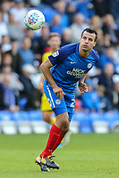 Steven Taylor of Peterborough United during the Sky Bet League 1 match between Peterborough and Oxford United at the ABAX Stadium, London Road, Peterborough, England on 30 September 2017. Photo by David Horn.