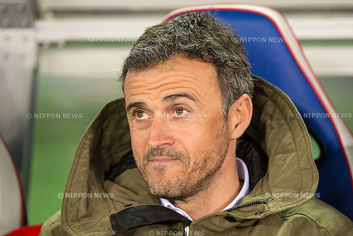 Luis Enrique (Barcelona), DECEMBER 17, 2015 - Football / Soccer : FIFA Club World Cup Japan 2015 semi-final match between FC Barcelona 3-0 Guangzhou Evergrande at Yokohama International Stadium, Kanagawa, Japan. (Photo by Enrico Calderoni/AFLO)
