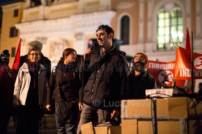 Alberto, Trade Unionist.<br /> <br /> Rome, 01/05/2019. This year I will not go to a MayDay Parade, I will not photograph Red flags, trade unionists, activists, thousands of members of the public marching, celebrating, chanting, fighting, marking the International Worker's Day. This year, I decided to show some of the Workers I had the chance to meet and document while at Work. This Story is dedicated to all the people who work, to all the People who are struggling to find a job, to the underpaid, to the exploited, and to the people who work in slave conditions, another way is really possible, and it is not the usual meaningless slogan: MAKE MAYDAY EVERYDAY!<br /> <br /> Happy International Workers Day, long live MayDay!