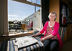 Nora Cunningham relaxing  at home in Athea Co.Limerick Pictured Credit Brian Gavin Press 22